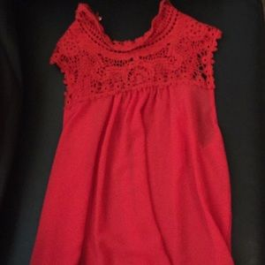 Charlotte Russe red top
